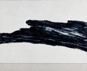Judith Trepp, Untitled, 2009, Eitempera, Öl und Ölstift auf Leinwand, 90 x 110 cm, © ART FORUM UTE BARTH