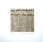 Esther Roth, aus Bild-Geschichten (L8), 1/21, 2012, 11.2 x 11 cm, Lithografie, Signiert