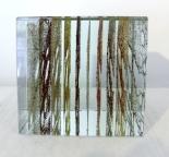Peter Wechsler, Glasobjekt, 2010, 10 x 10 x 10 cm, Monogrammiert