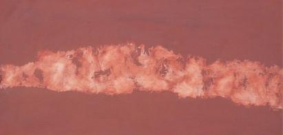 Judith Trepp, Untitled, 2011, Eitempera, Öl und Ölstift auf Leinwand, 33.5 x 64cm, Rückseitig signiert