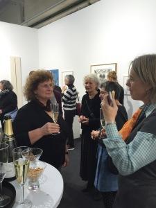 Treffen mit den KünstlerInnen @#Kunst15Zürich