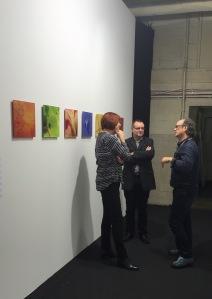 Hans Thomann im Gespräch @#Kunst15Zürich