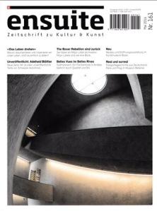 ensuite - Artikel zur Ausstellung in der Galerie ART FORUM UTE BARTH, Zürich