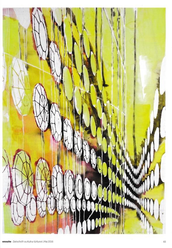 Ausstellung Maya Vonmoos in der Galerie ART FORUM UTE BARTH, Zürich (ensuite)