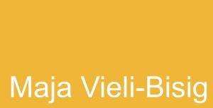 Einladungskarte Maja Vieli-Bisig in der Galerie Art Forum Ute Barth Zürich