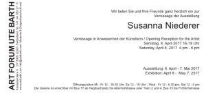Susanna Niederer Galerie Art Forum Ute Barth Zürich