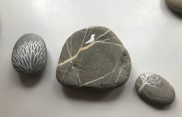Mahroo Movahedi 'narrative stones' 2019