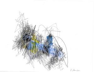 Gabriela Morschett Arbeit auf Papier